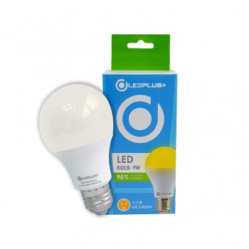 BOMBILLO LED BULB E27 7W 6500K